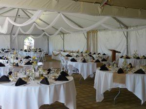 Crystal Ridge Golf Club Tent