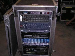 Concert audio rack