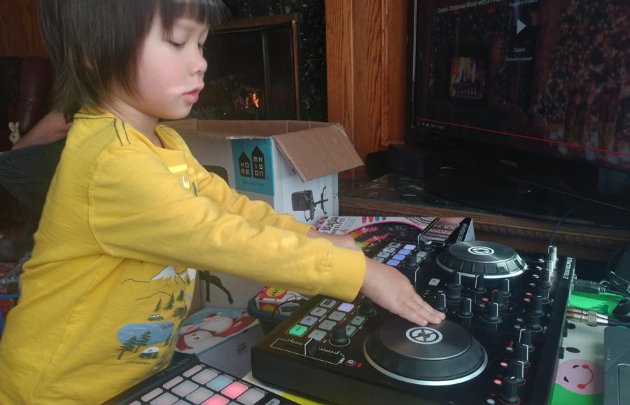 Child DJ